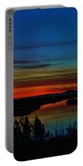 Deep Marshland Sunset Portable Battery Charger