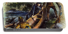 Father Jacques Marquette Portable Battery Charger