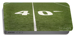 Football Field Forty Portable Battery Charger