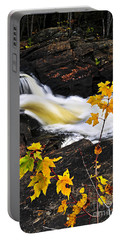 Forest River In The Fall Portable Battery Charger