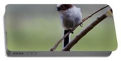 Portable Battery Charger featuring the photograph Long Tailed Tit by Gavin Macrae