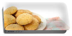 Moroccan Biscuits Portable Battery Charger