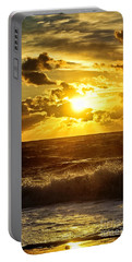 Ocean Sunrise Portable Battery Charger