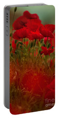 Poppy Flowers 06 Portable Battery Charger