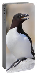 Razorbill Portable Battery Charger by Bruce J Robinson