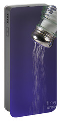 Salt Pouring Out Of Salt Shaker Portable Battery Charger