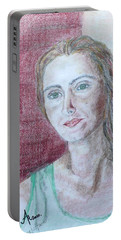 Self Portrait Portable Battery Charger by Anna Ruzsan
