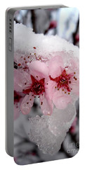 Spring Blossom Icicle Portable Battery Charger by Kerri Mortenson