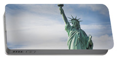 Portable Battery Charger featuring the photograph Statue Of Liberty by Theodore Jones