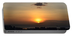 Sunset Upon The Ocean  Portable Battery Charger