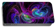 Technicolor Galaxies Portable Battery Charger