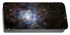 The Iris Nebula Portable Battery Charger