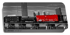 The Red Box Car Portable Battery Charger by Doug Long