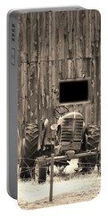 Tractor And The Barn Portable Battery Charger