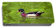 Water Wood Duck Portable Battery Charger