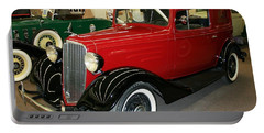 1930's Antique Chevrolet Sedan Portable Battery Charger