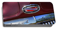 Portable Battery Charger featuring the photograph 1951 Buick Eight by Gordon Dean II