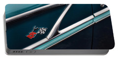 Portable Battery Charger featuring the photograph 1958 Chevrolet Bel Air by Gordon Dean II