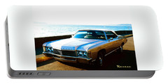 Portable Battery Charger featuring the photograph 1971 Chevrolet Impala Convertible by Sadie Reneau