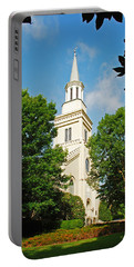 Portable Battery Charger featuring the photograph 1st Presbyterian Church by Kay Lovingood