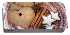 Christmas Gingerbread Portable Battery Charger