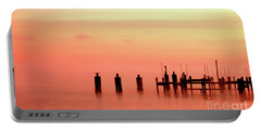 Portable Battery Charger featuring the photograph Eery Morn by Clayton Bruster