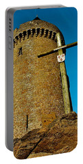 Portable Battery Charger featuring the photograph Solidor And Cross by Elf Evans