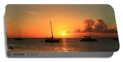 Sunset Portable Battery Charger by Catie Canetti