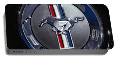 2012 Ford Mustang Trunk Emblem Portable Battery Charger