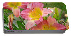 3 Lillies Portable Battery Charger