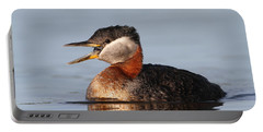 Rednecked Grebe Portable Battery Charger