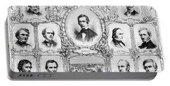 Presidential Campaign, 1860 Portable Battery Charger