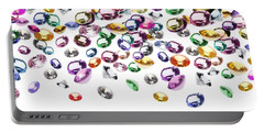 Colorful Gems Portable Battery Charger