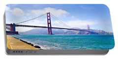 75 Years - Golden Gate - San Francisco Portable Battery Charger