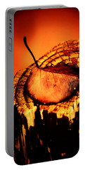 Portable Battery Charger featuring the photograph A Pose For Fall by Jessica Shelton