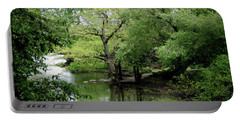 Portable Battery Charger featuring the photograph A River Runs Through Central Park  by Lorraine Devon Wilke