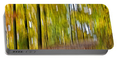 Portable Battery Charger featuring the photograph A Walk In The Woods by Susan Leggett