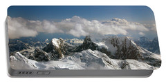 Above Mckinley Portable Battery Charger by Kay Lovingood
