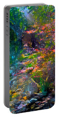 Abstract 86 Portable Battery Charger by Pamela Cooper