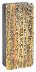 Abstract Aspens Portable Battery Charger