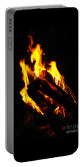 Portable Battery Charger featuring the photograph Abstract Phoenix Fire by Rebecca Margraf