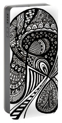 Abstract Rounding Portable Battery Charger