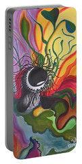 Abstract Underwater Anemone Portable Battery Charger
