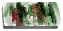 Abstract Watercolor 51 Portable Battery Charger by Chriss Pagani