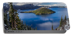 Afternoon Clearing At Crater Lake Portable Battery Charger