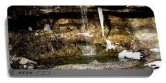 Alcove Spring And Waterfall Portable Battery Charger