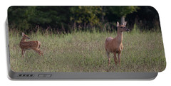 Alert Doe And Fawn Portable Battery Charger