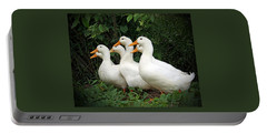 All My Ducks In A Row Portable Battery Charger