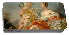 Allegory Of Music Portable Battery Charger