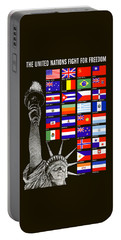 Allied Nations Fight For Freedom Portable Battery Charger
